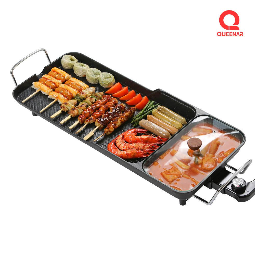 퀸나 스마트 전기 그릴 QNGR-3000B