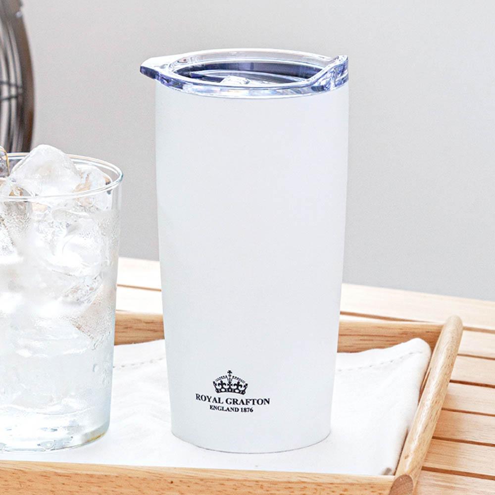 로얄그래프톤 보온보냉텀블러(콜드컵) 600-화이트