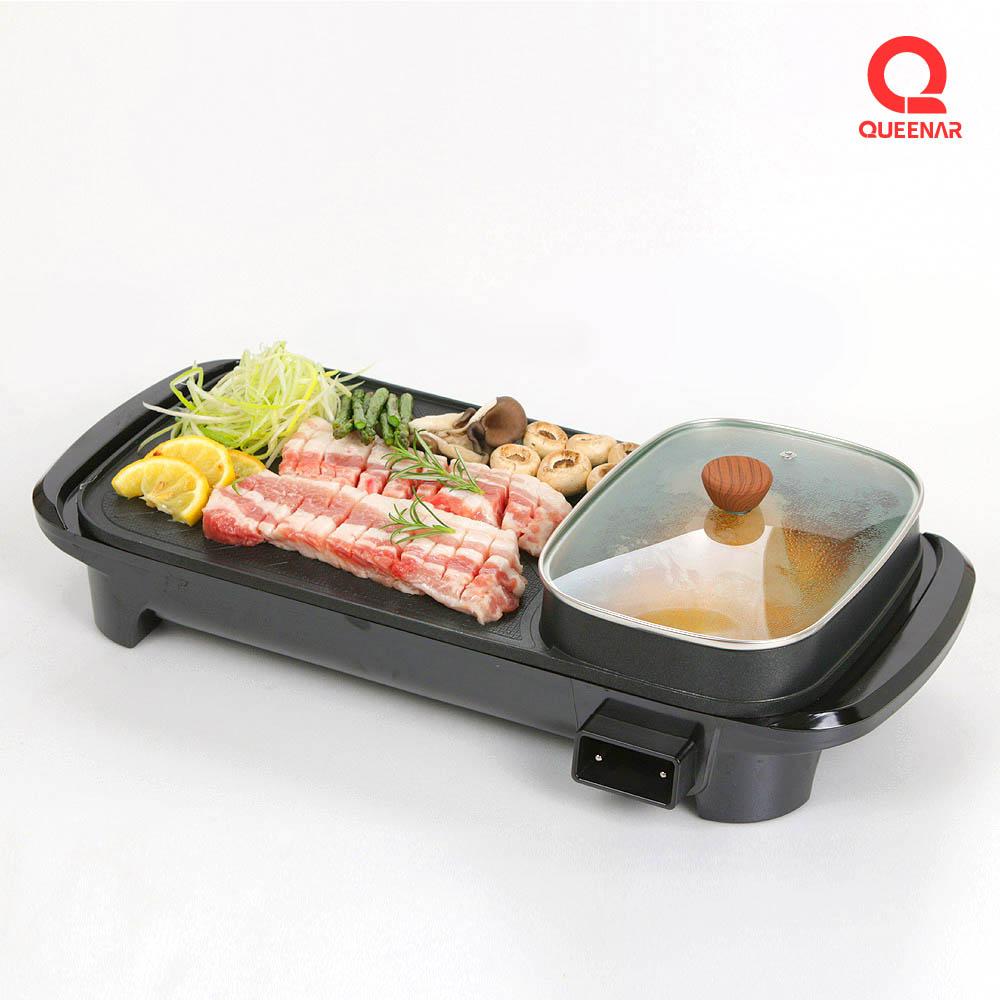 퀸나 멀티 전기 그릴 QNGR-2000B