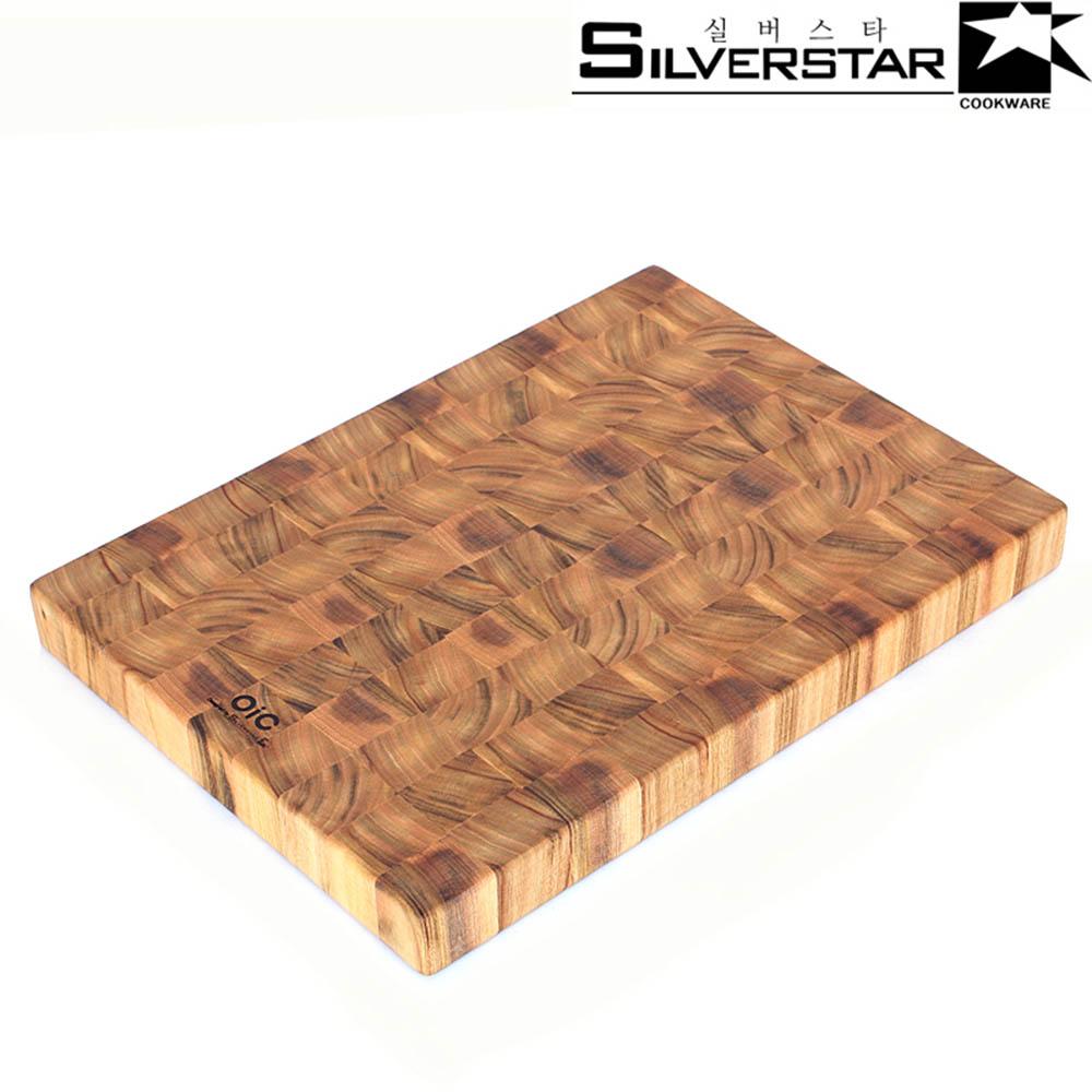 실버스타 오아이씨 앤드그레인 캄포 나무도마 사각