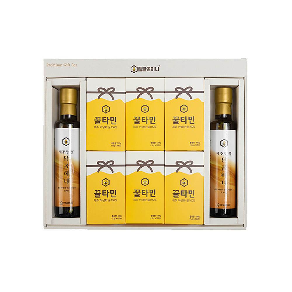 청정제주 벌꿀스틱 꿀타민선물세트(달콤허니1호)