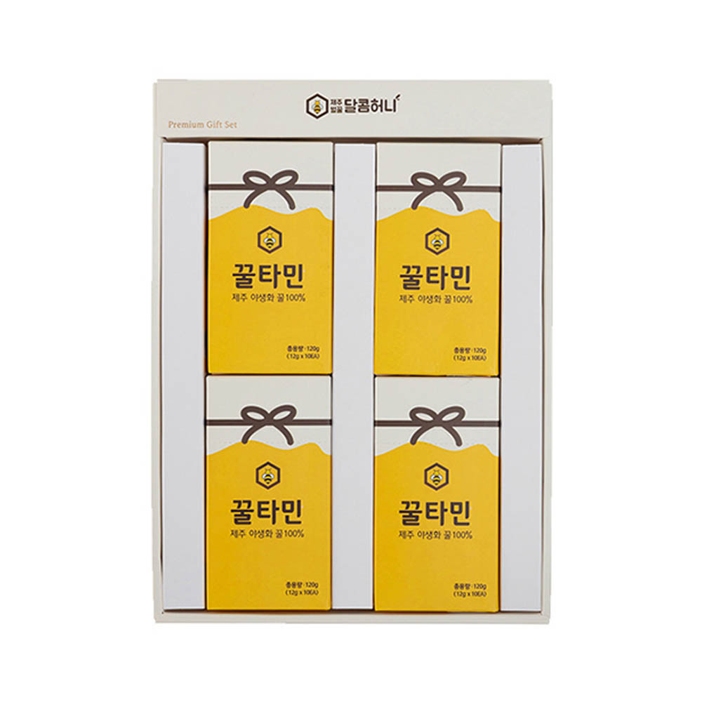 청정제주 벌꿀스틱 꿀타민선물세트(달콤허니5호)