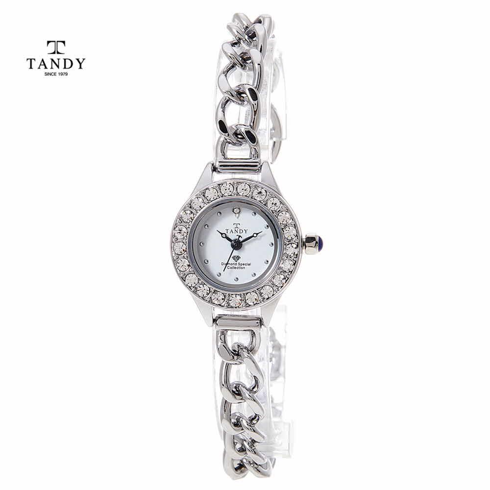 탠디 다이아몬드 셀프밴드 여성팔찌시계 DIA-4038