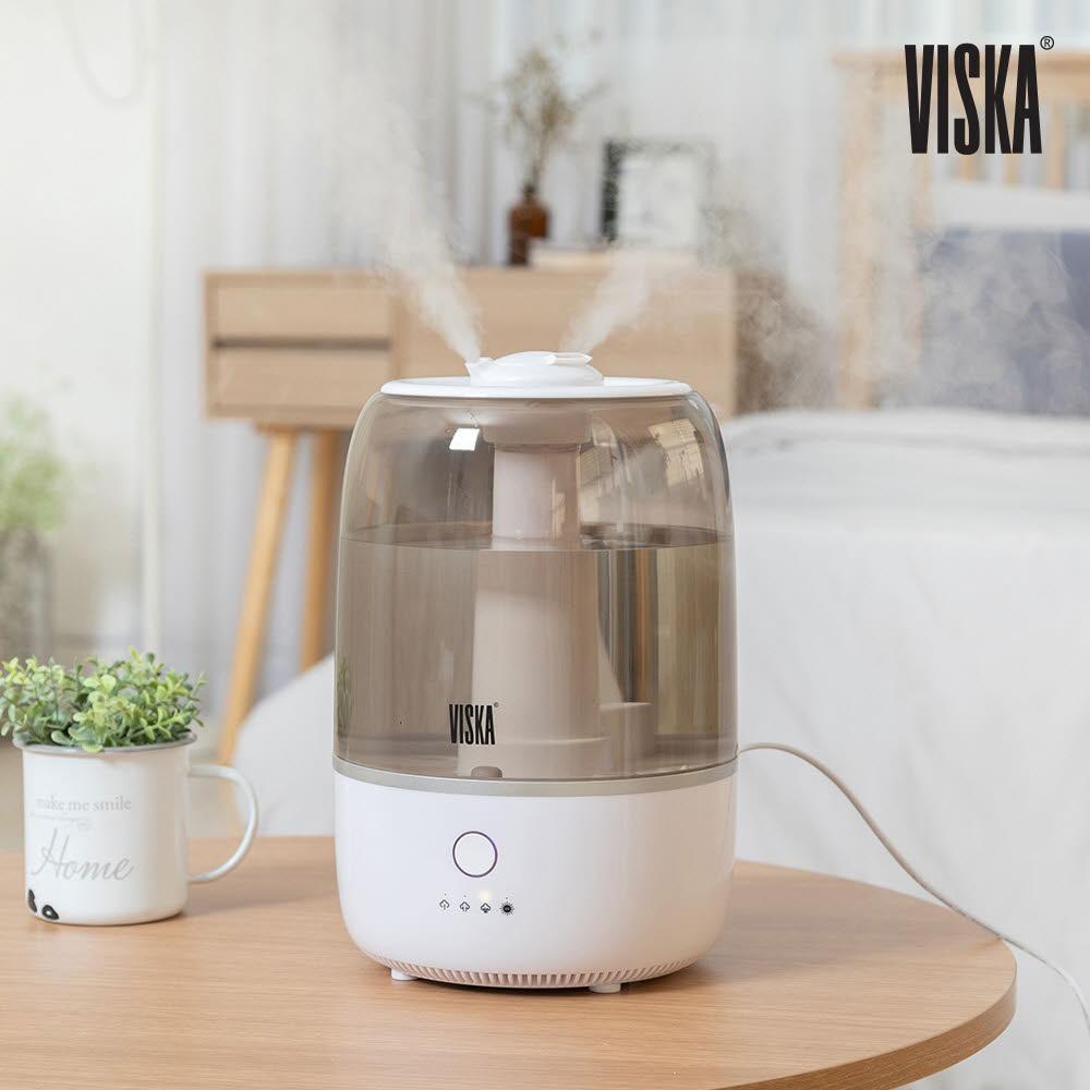 비스카 4.5L UV 살균 듀얼 가습기 VK-YB250HF
