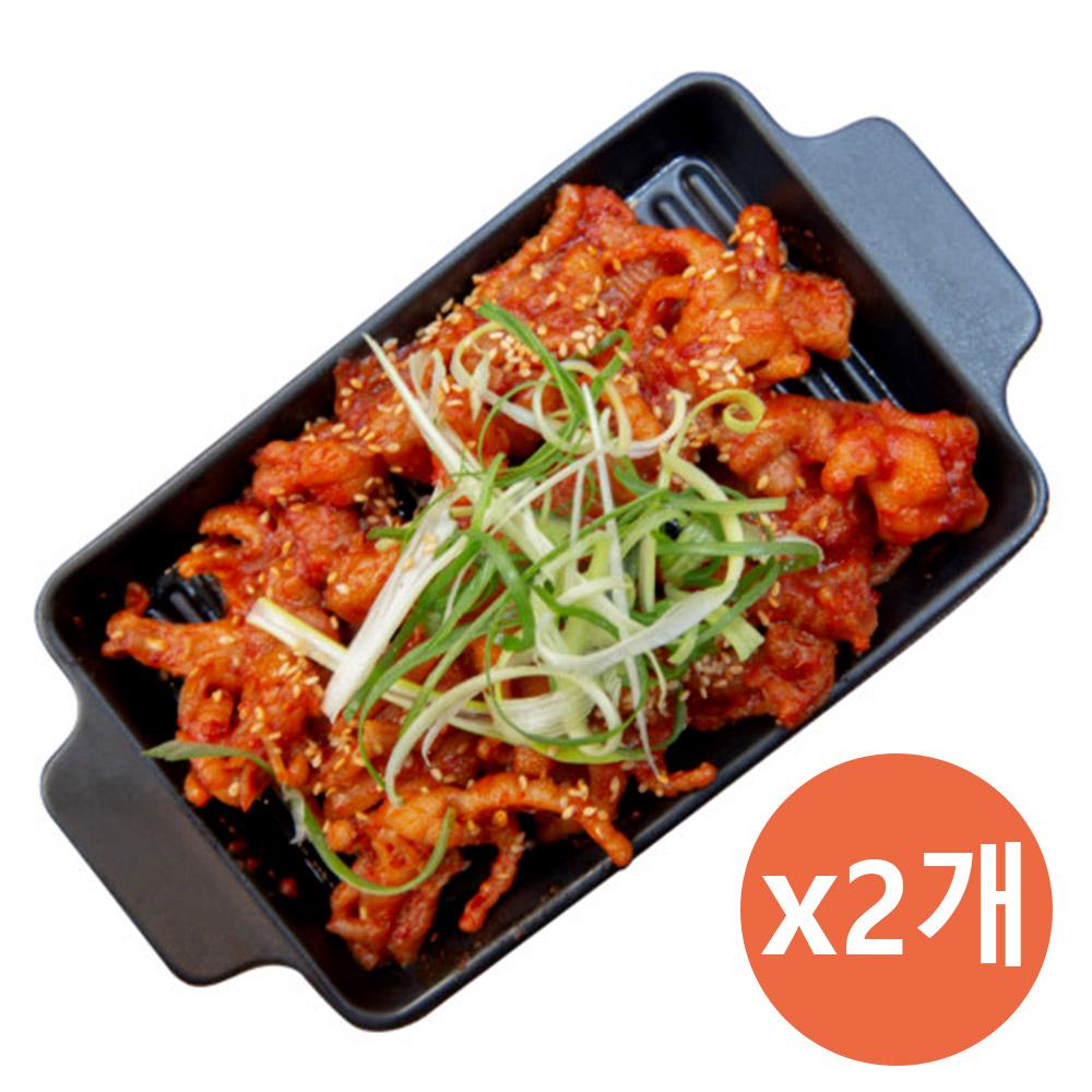 부천 맛집! 명장 숯불 무뼈닭발 280g*2ea