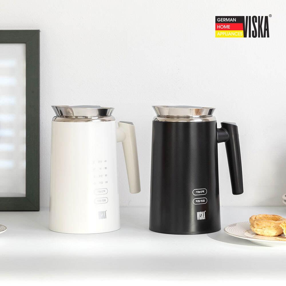 비스카 0.7L 디지털 보온주전자 VK-K650CT (화이트/블랙 색상택일)