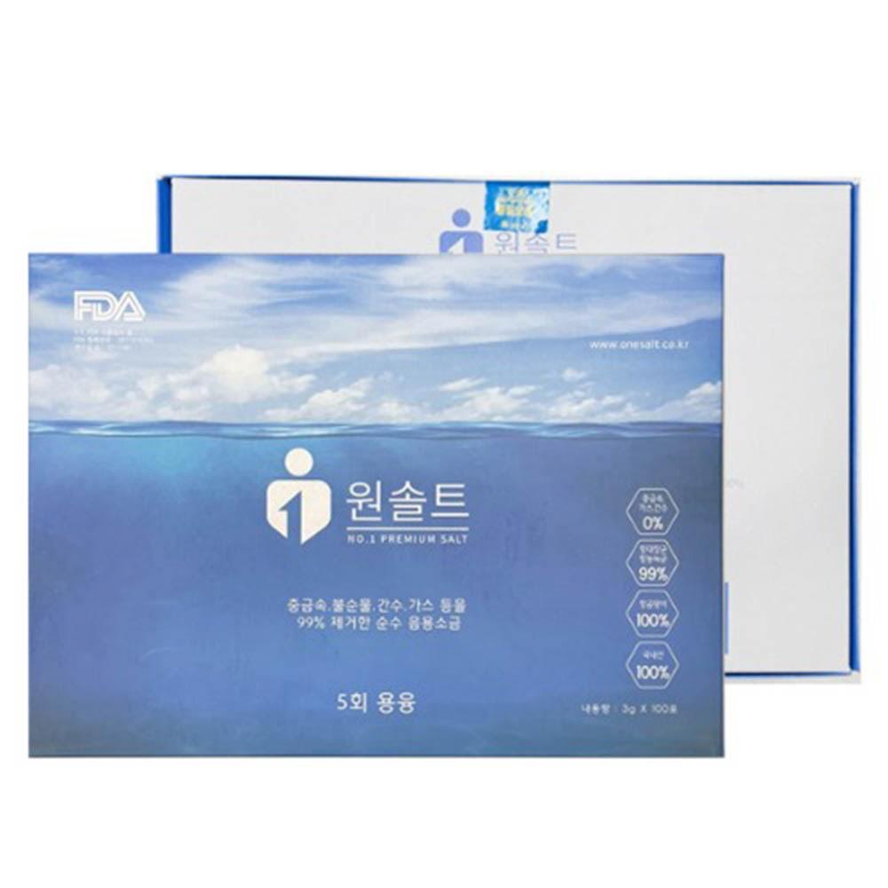 개별포장 가는소금 원솔트 프리미엄 (3g X 100포)