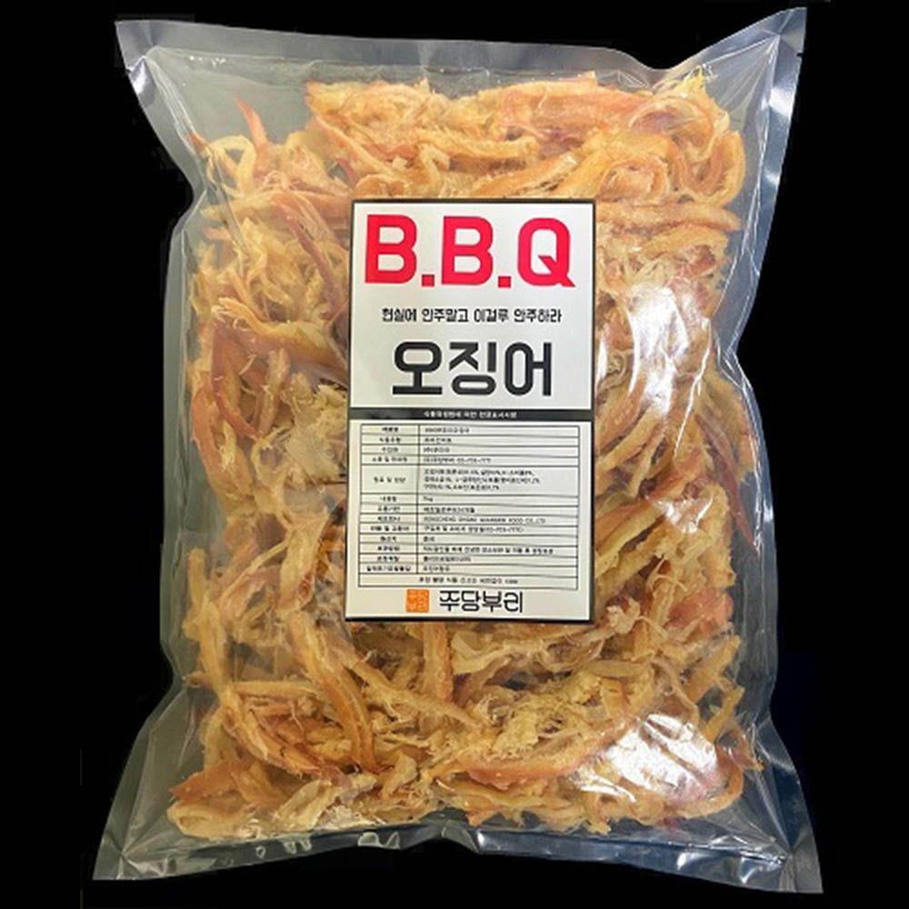 단짠단짠 BBQ 버터구이오징어 1KG맥주안주 주전부리