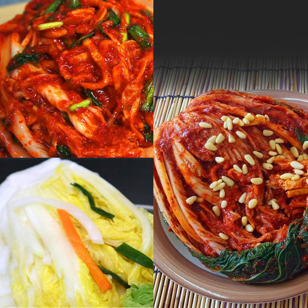 예본 찐 배추(백)김치 3kg + 보쌈김치 2kg / 택1