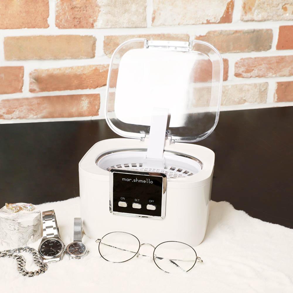 빈크루즈 마쉬멜로 가정용 초음파 안경 세척기 BCUC-750