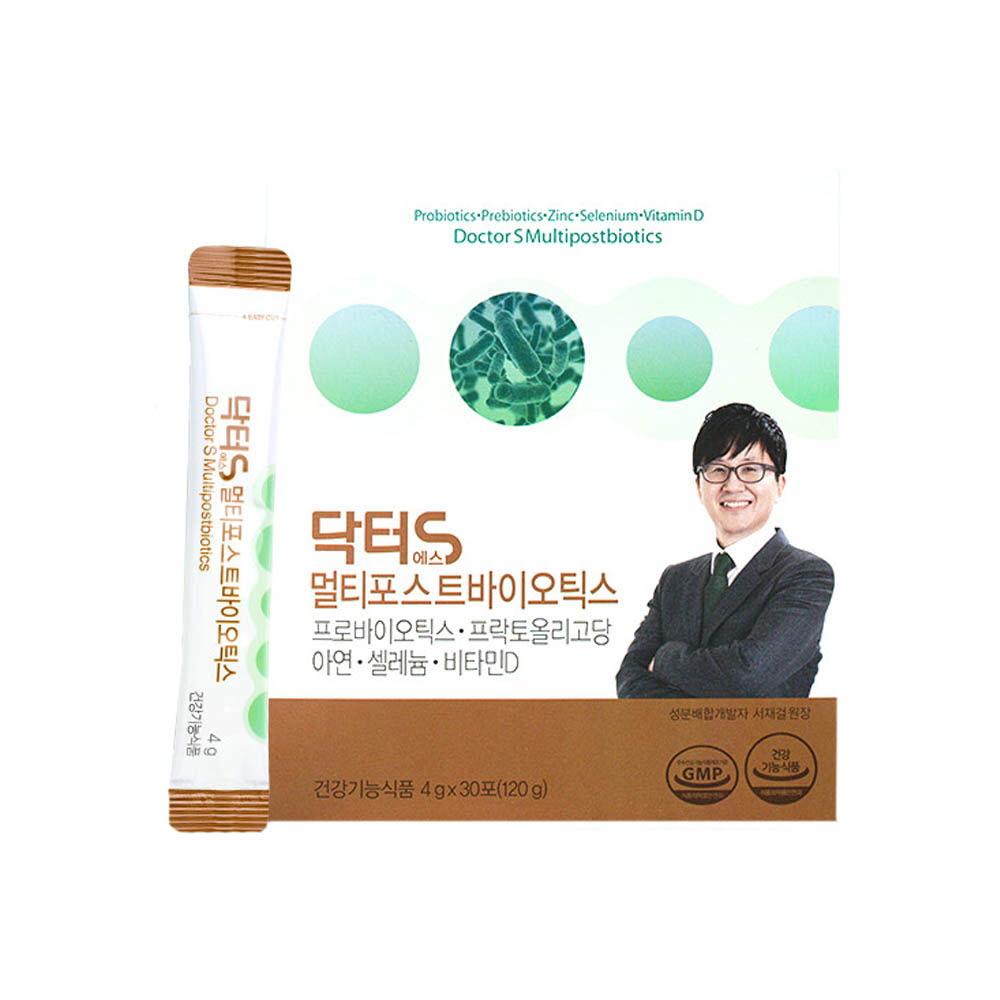 서재걸 닥터S 멀티포스트 바이오틱스 (4gx30포)