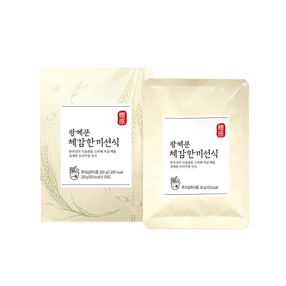 왕혜문 체감선식 1박스(10포)