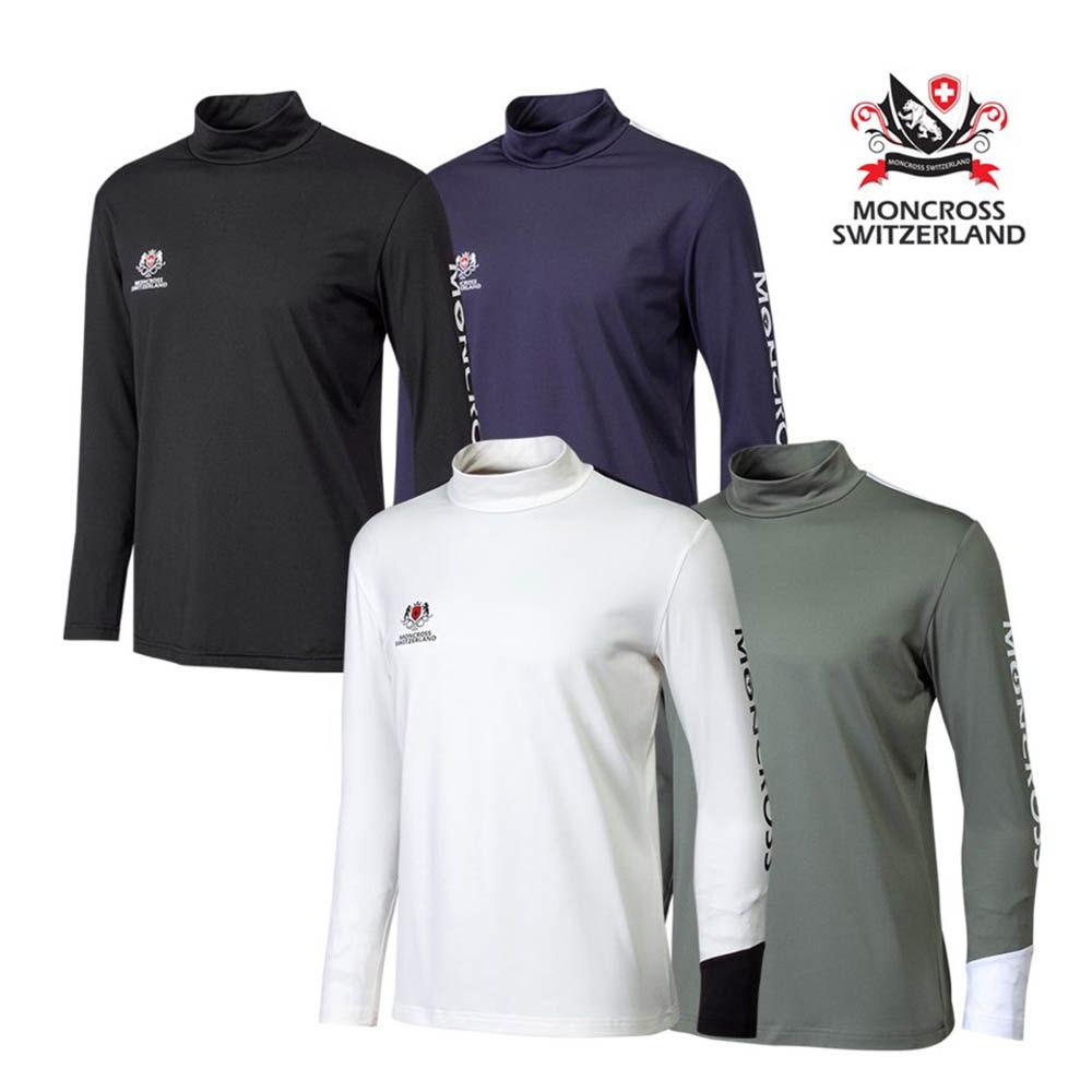 스위스 몽크로스 프리미엄 슬림 기모 티셔츠(색상 택1)