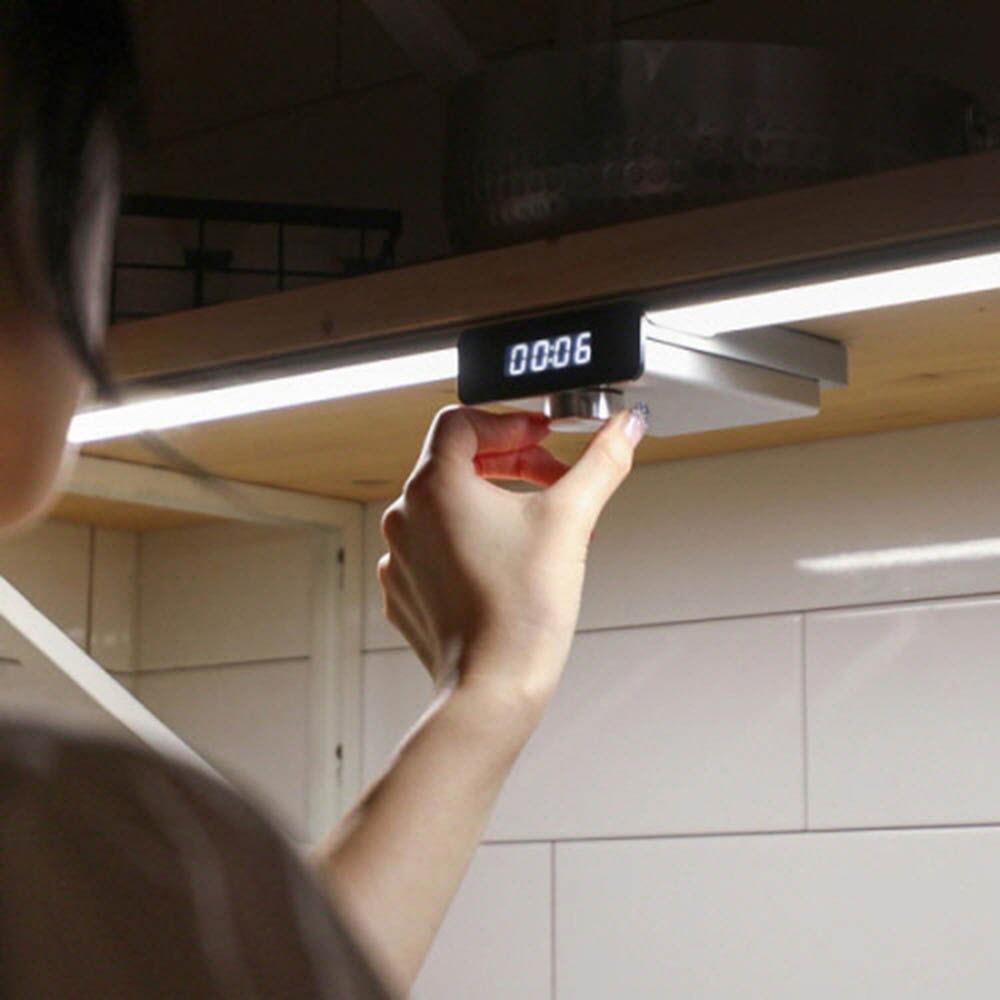 오엘라 LED 센서바 (쿠킹타이머) LT01(실버)