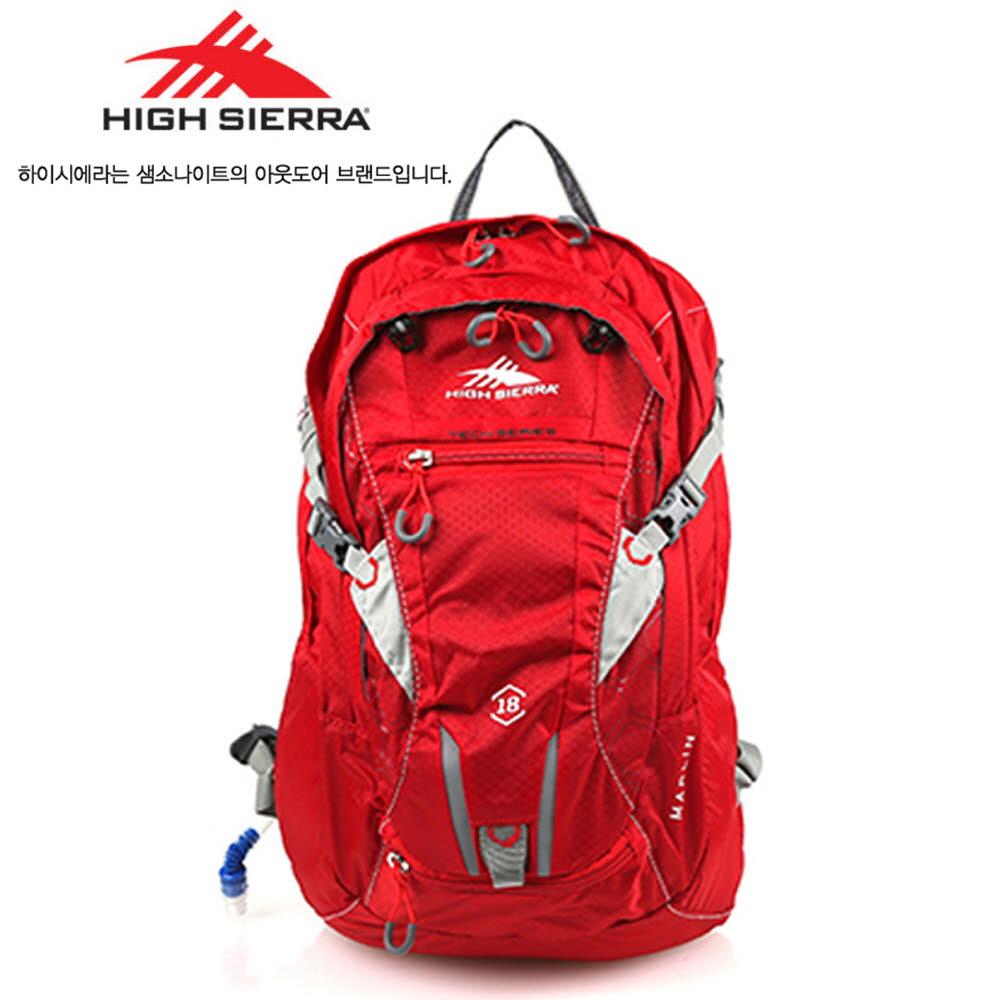 쌤소나이트 하이시에라 MARLIN HYDRATION 백팩 18L H05NC006 레드