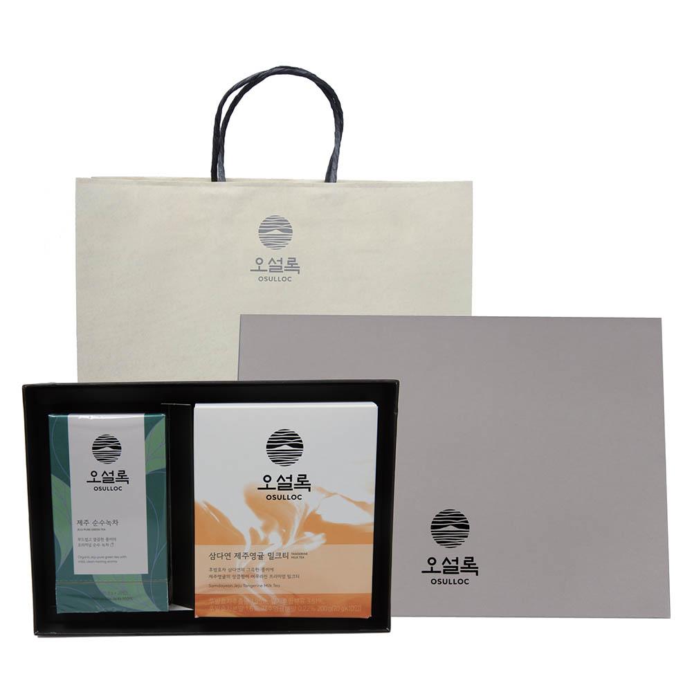 오설록 선물세트 2호 (케이스+쇼핑백증정)