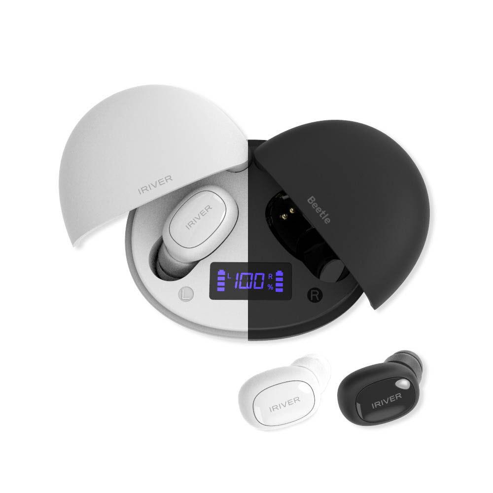 아이리버 TWS 비틀 완전무선 블루투스 이어폰(ITW-G4) 블랙 or 화이트