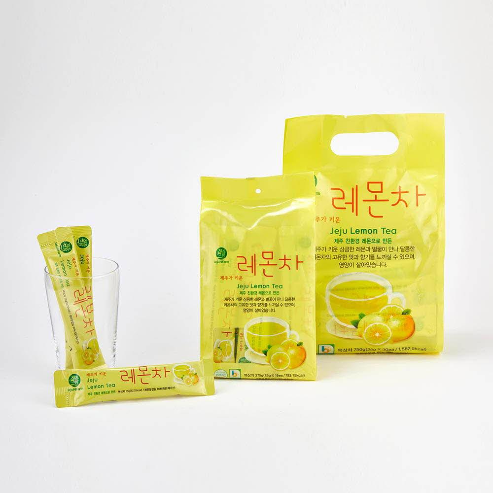 제주가키운 레몬차 스틱 375g (25g*15ea)