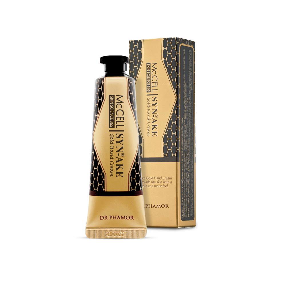 닥터파모르 McCELL SKIN SCIENCE 365 Syn-Ake Gold Hand Cream 시네이크 골드 핸드크림 30g