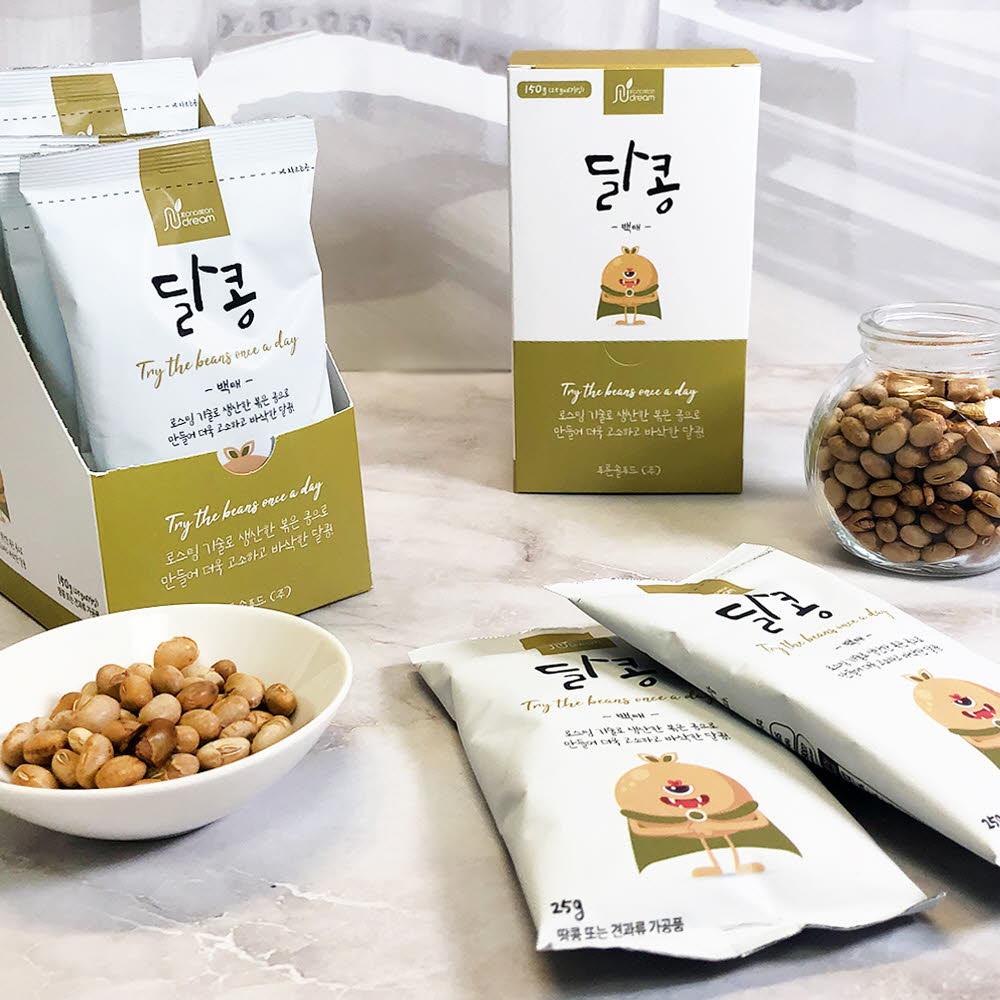 정선드림 달콩 백태 1BOX (25gx6봉)