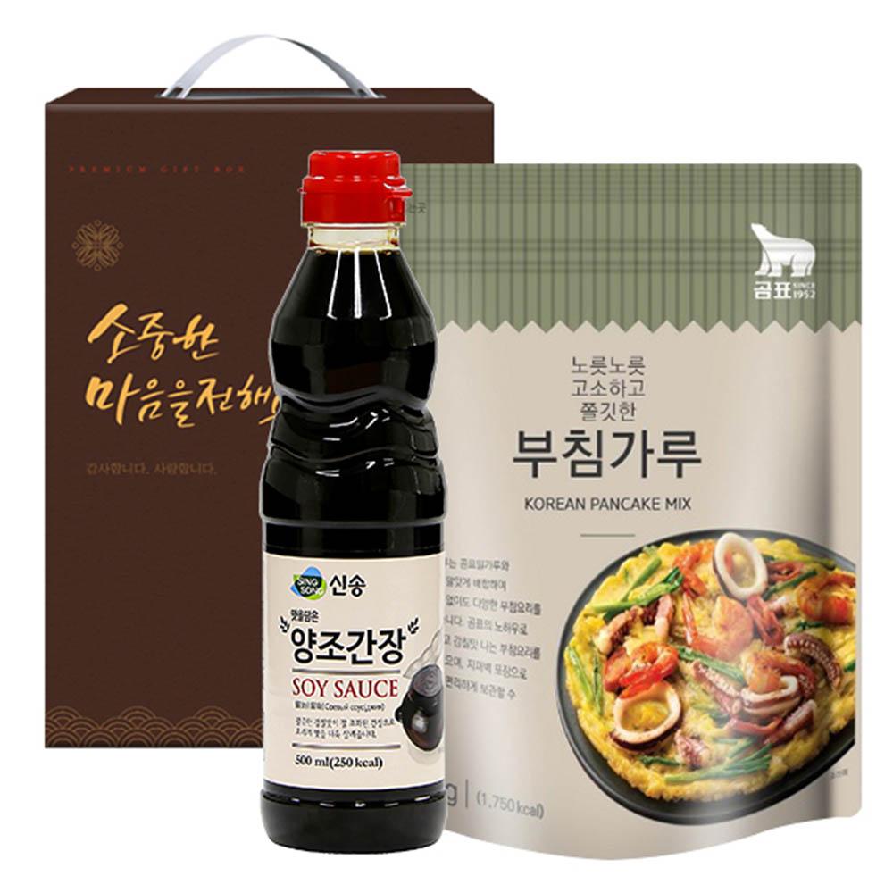 신송 양조간장 곰표부침가루(2종)