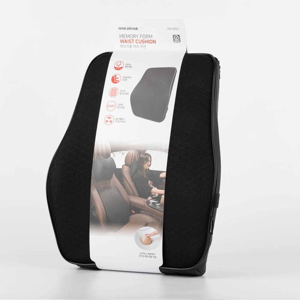 아이나비 메모리폼 허리 쿠션 ISA-W01