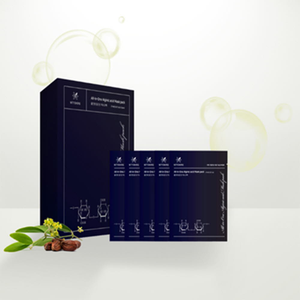 올인원 알긴산 마스크팩 1통(5팩)