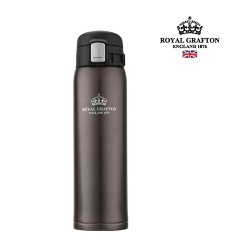 로얄그래프톤 보온보냉원터치텀블러 420-브라운 RG4012