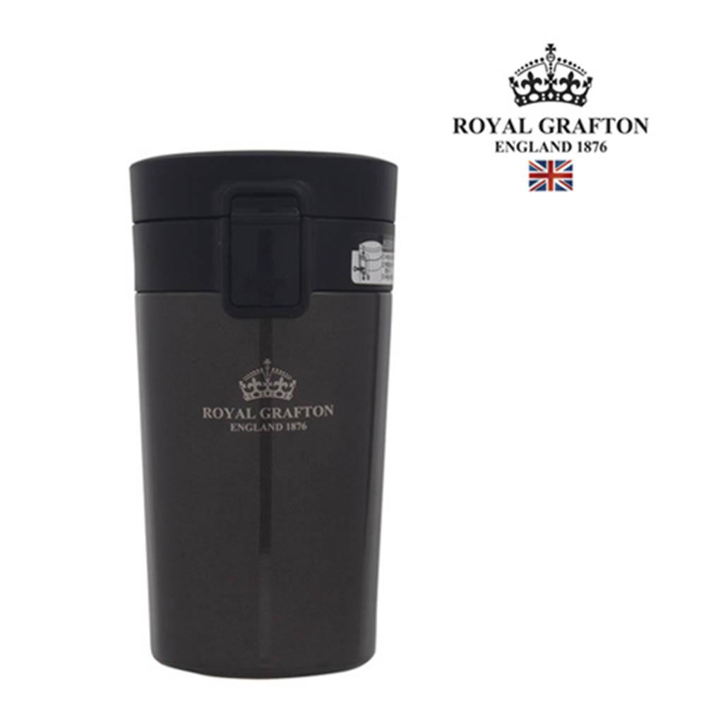 로얄그래프톤 보온보냉원터치텀블러 300-브라운 RG4036