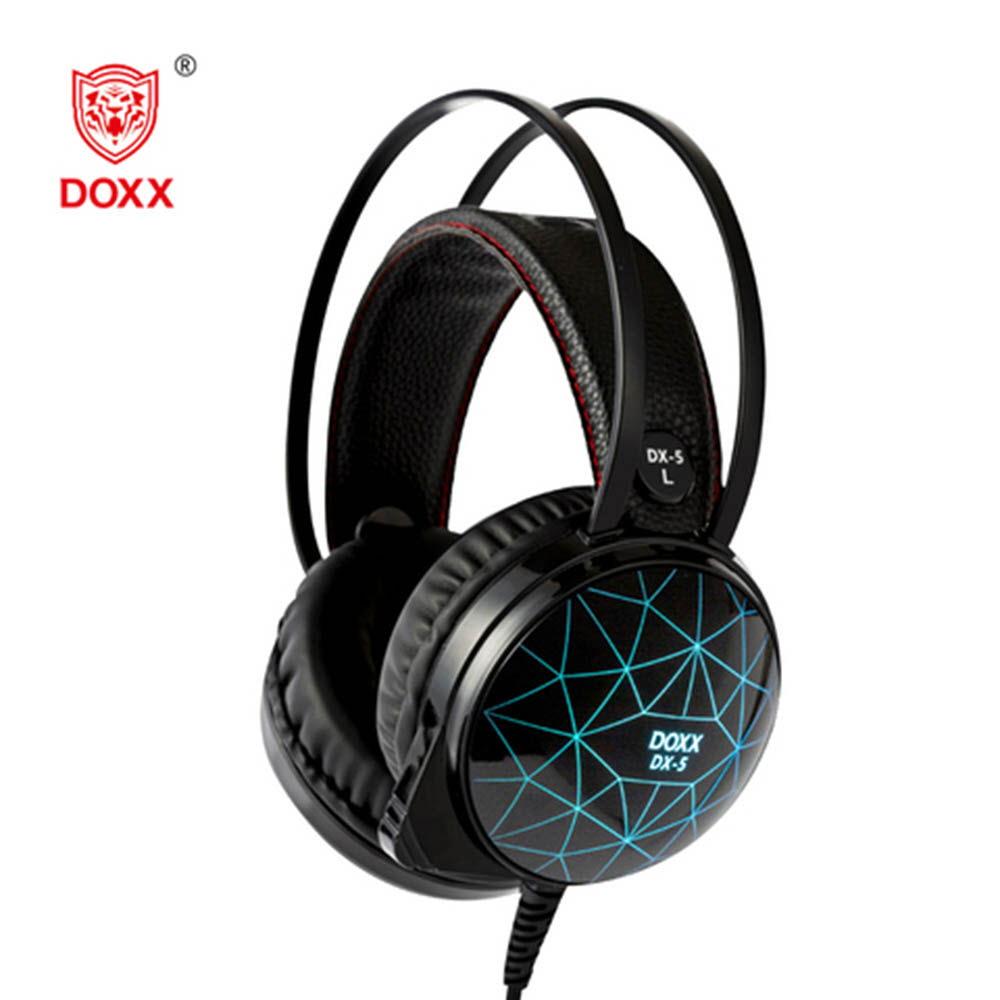 [DOXX] 독스 LED 게이밍 헤드셋 DX-5 (7.1채널 USB타입)