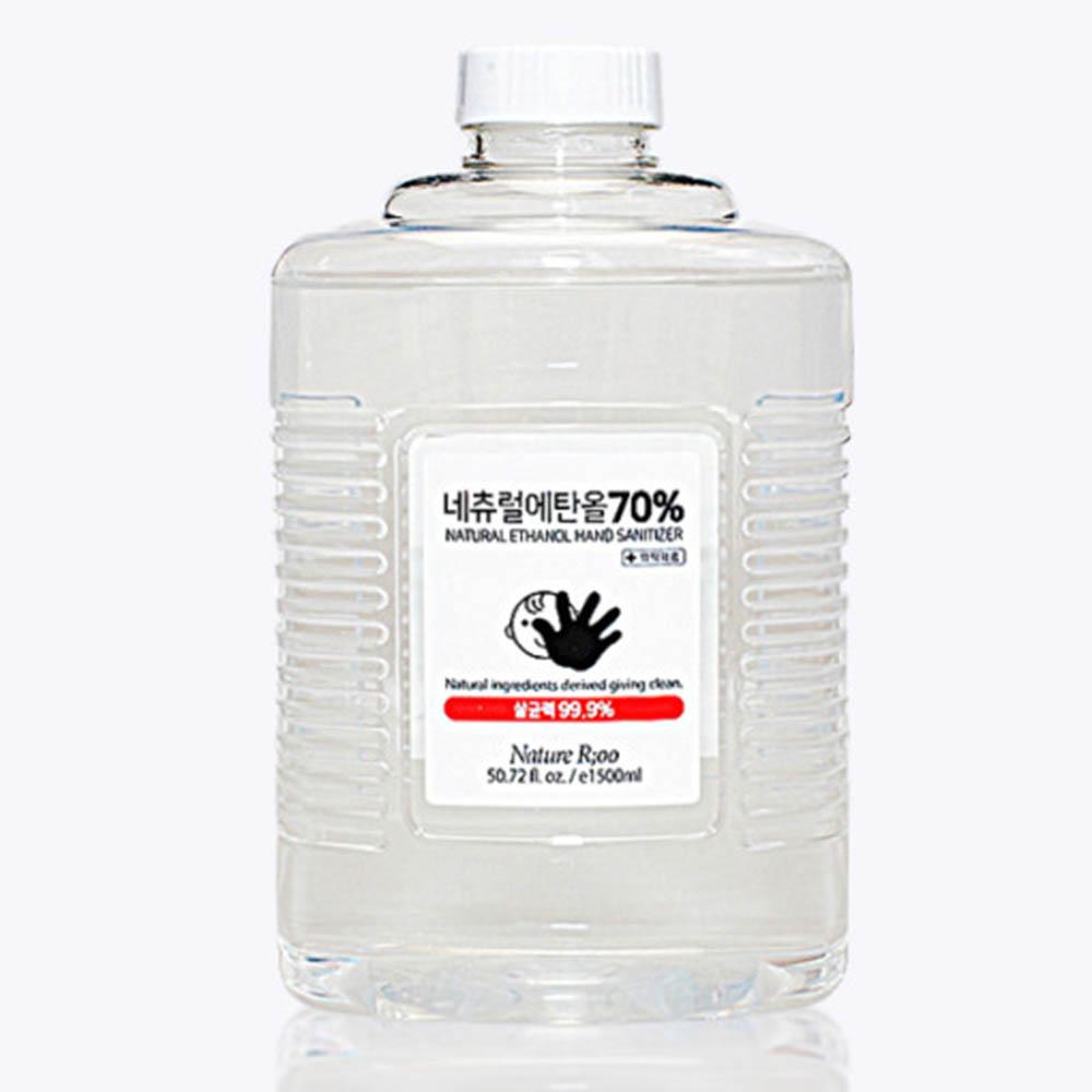소독용 식물성에탄올 알콜 70% 1.5L (의약외품)