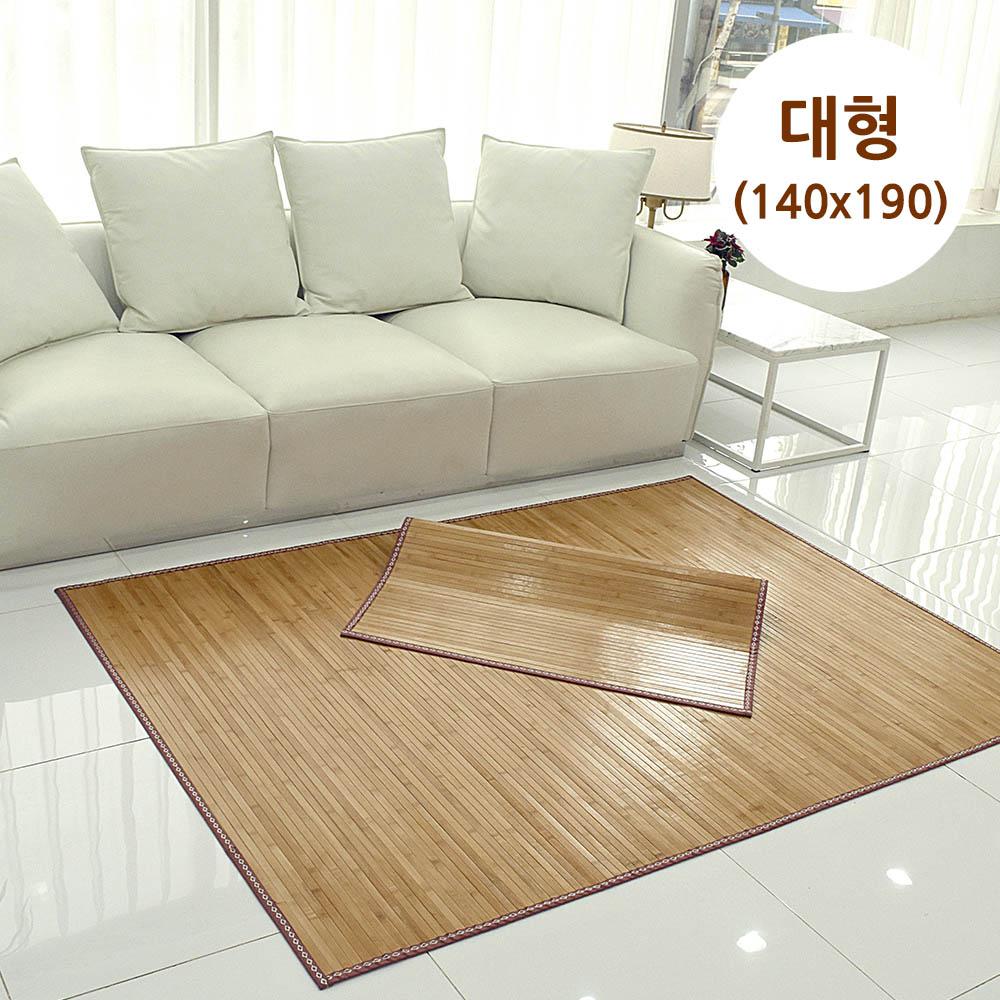 메시앙 센스 통왕대나무 5년 죽편 대나무자리 대형(140x190)