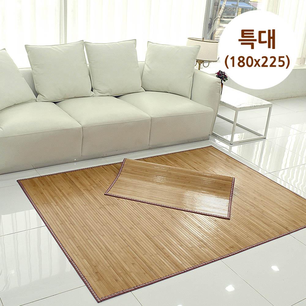 메시앙 센스 통왕대나무 5년 죽편 대나무자리 특대 (180x225)
