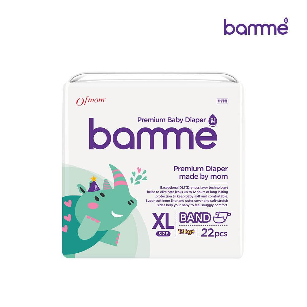 [bamme] 밤 기저귀 밴드형 특대형(22매)