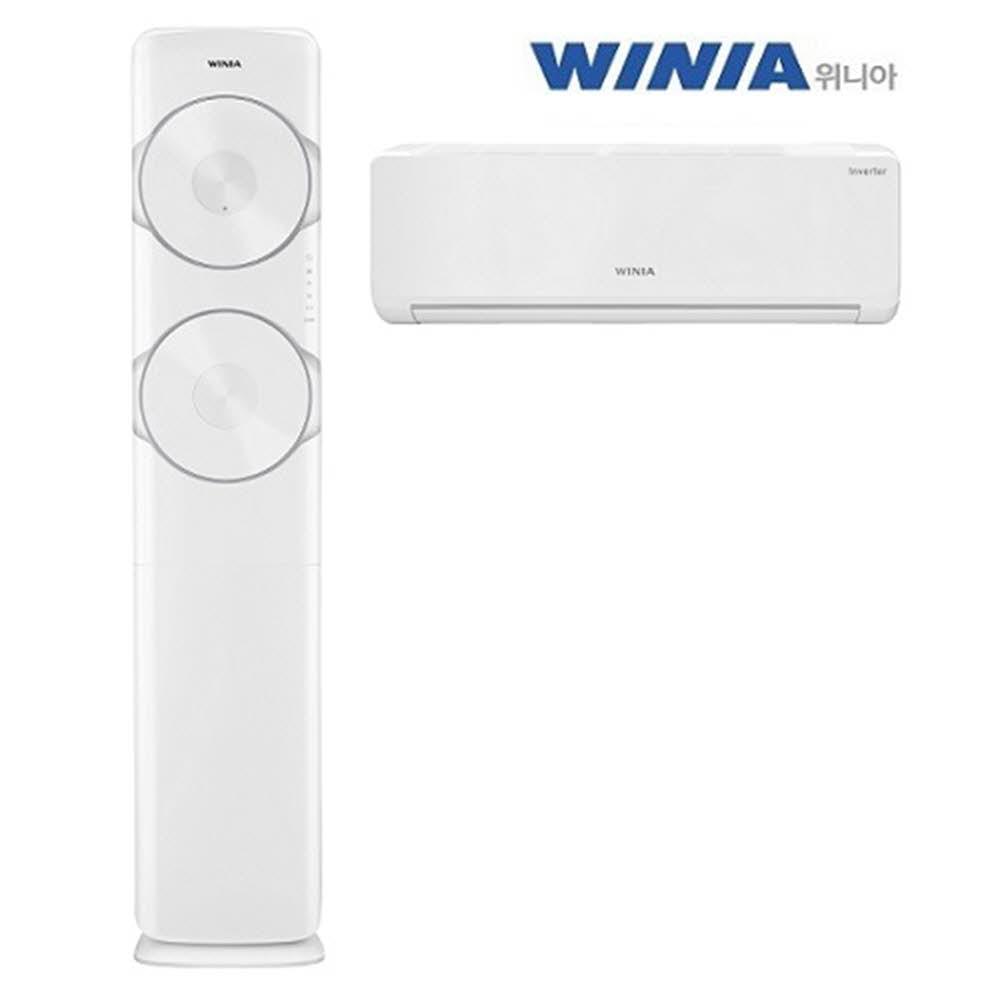 위니아 스탠드형 에어컨(멀티)-WPVW17EDEWM(17+7평형)