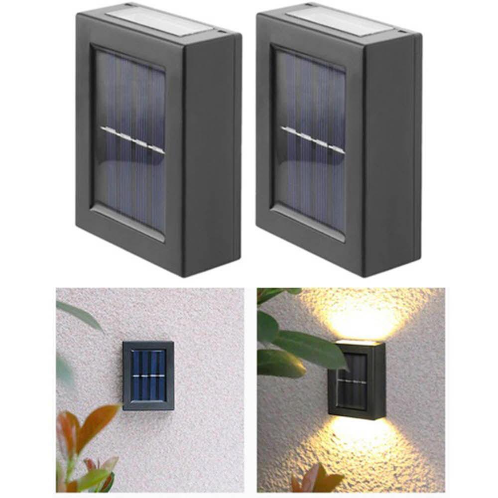 태양광 야외 조명등 벽부등 벽등 cob 2p 2ST