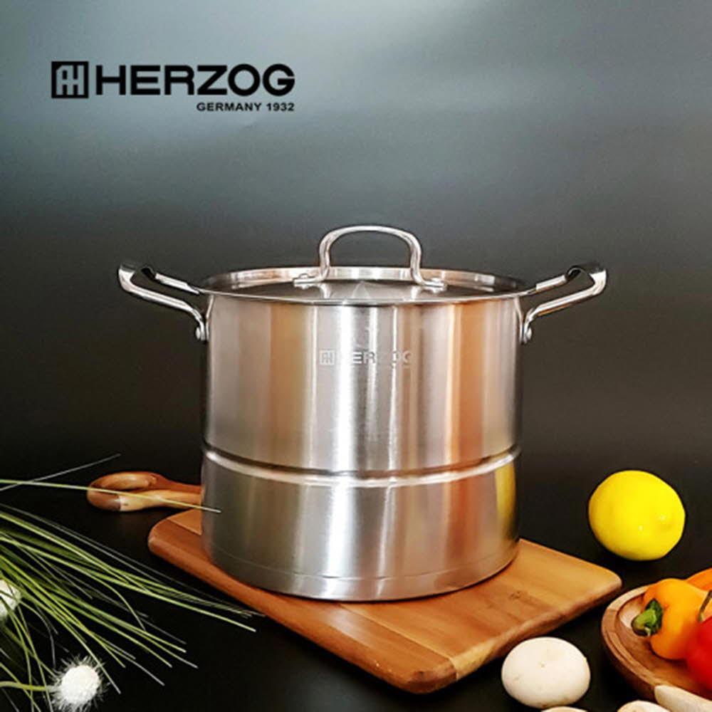 헤르조그 스텐 찜 곰솥 24cm(9L)-MCHZ-V002