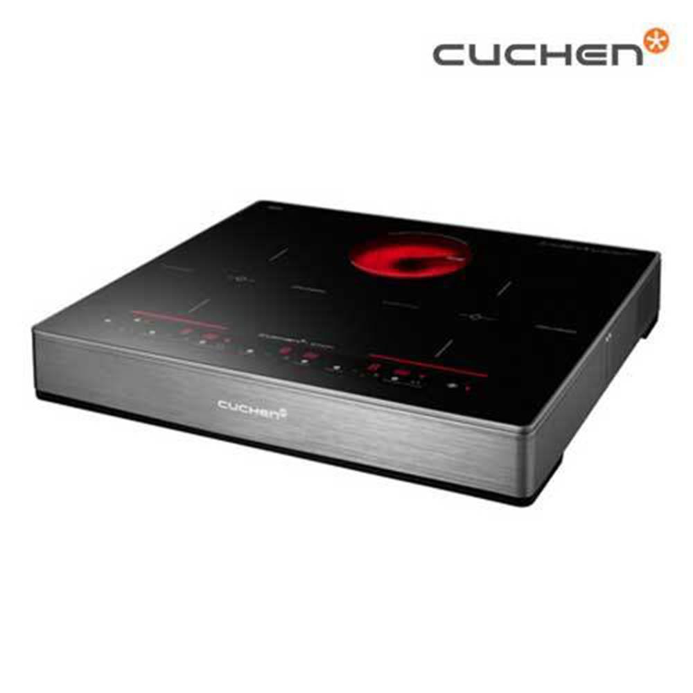 [쿠첸] 3구 하이브리드 전기레인지 CIR-S3300DSBE