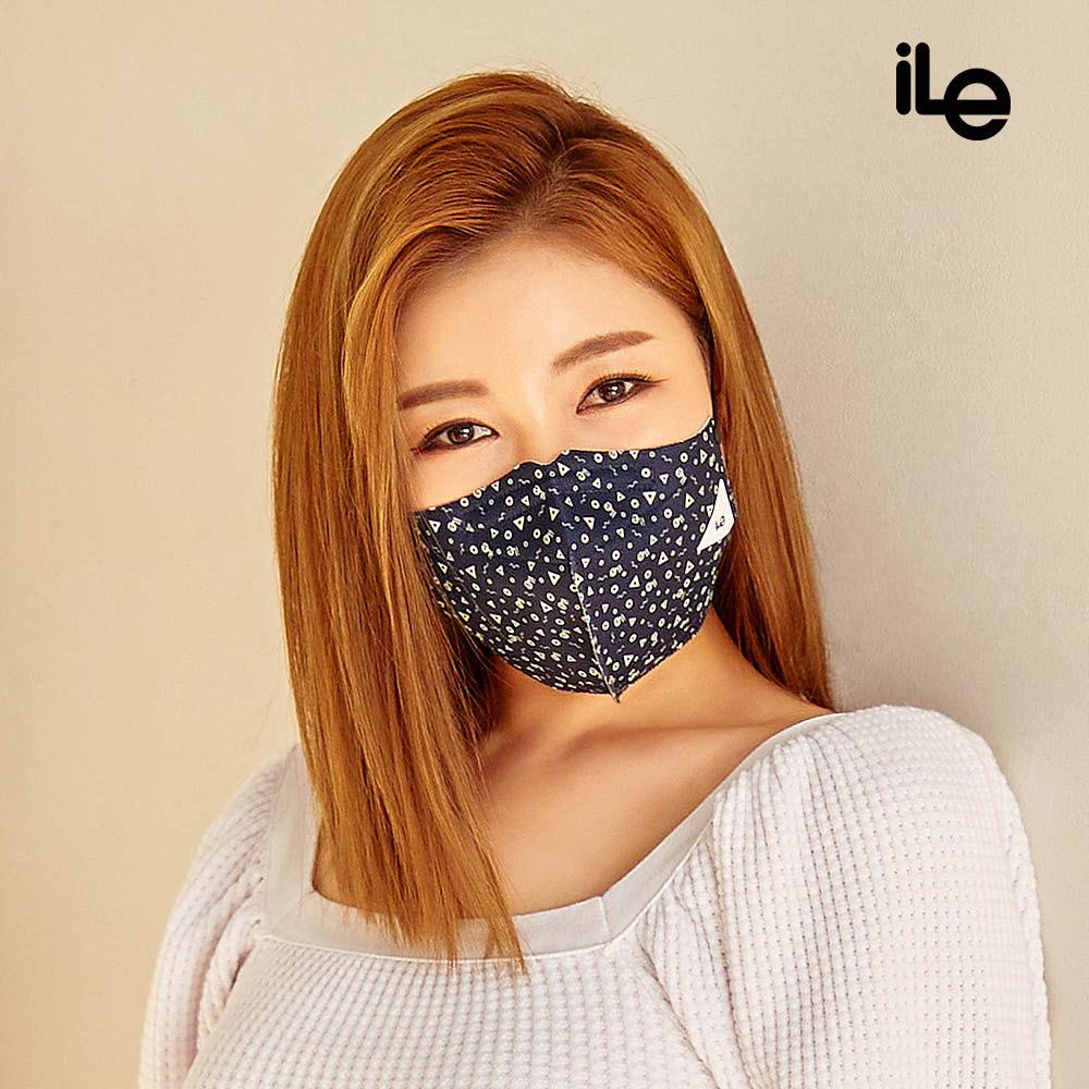 ILE 워셔블 쿼드 Cool- X 마스크