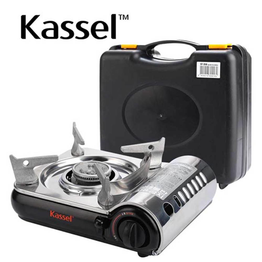 카셀 컴팩트(COMPACT) 휴대용 스텐레스 가스렌지 (LJK-1006)