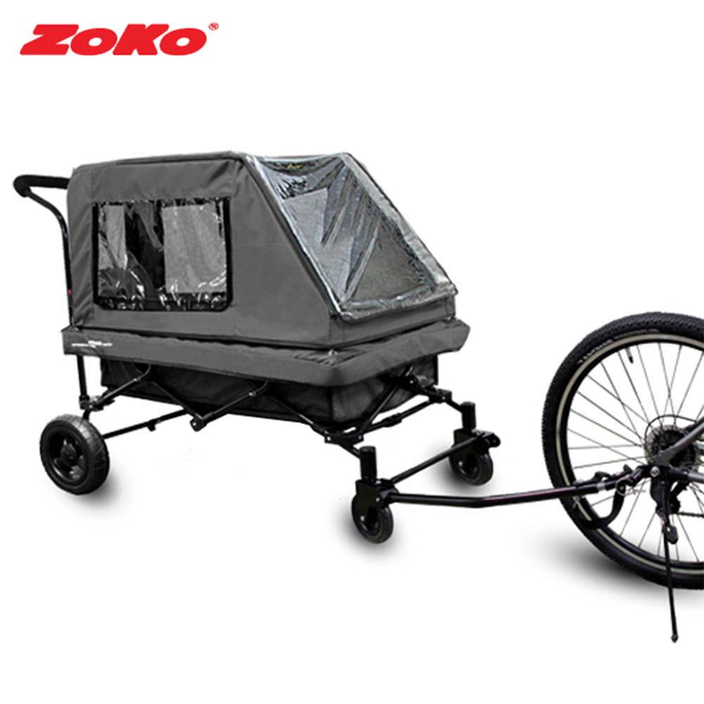ZOKO 조코 유모차형 유아웨건 퍼니밴(풀세트형) 그레이