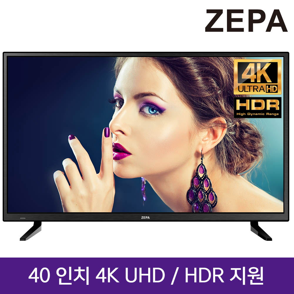 제파 40인치 UHD TV ZE403683UT(J)
