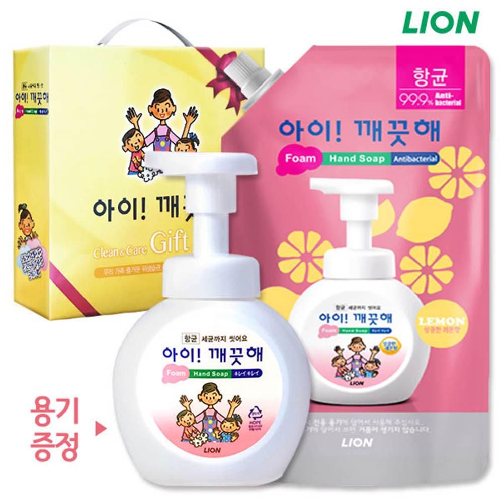 (항균)아이깨끗해 기프트2종(600ml,빈용기증정)