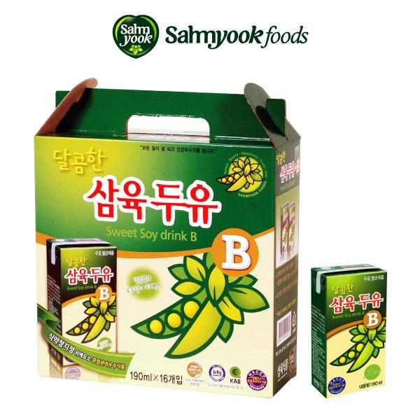 (삼육)달콤한 삼육두유 16P