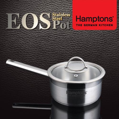 [Hamptons]독일 햄튼 EOS 인덕션 3중 바닥 편수냄비 16cm